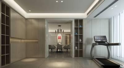 20万以上140平米三室两厅现代简约风格健身房装修效果图