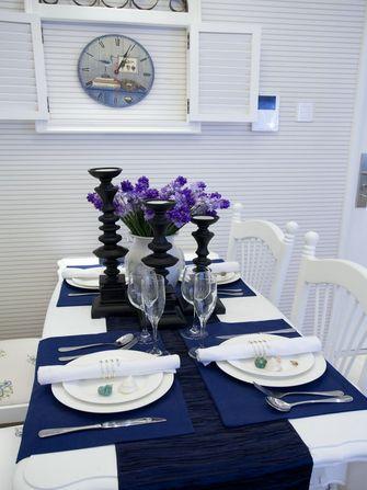 15-20万100平米三室两厅地中海风格餐厅设计图