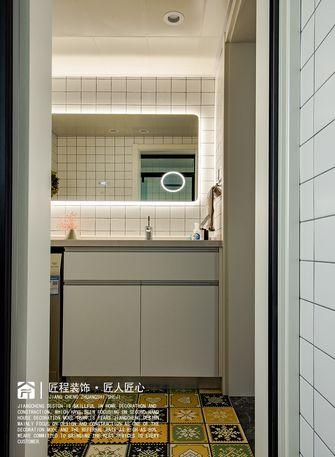 经济型70平米一室两厅北欧风格卫生间设计图