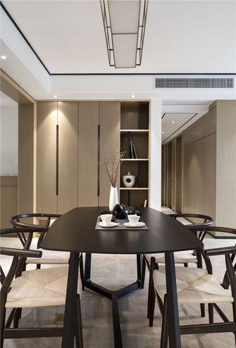 110平米四室两厅中式风格餐厅欣赏图