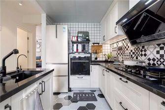 经济型80平米北欧风格厨房装修效果图
