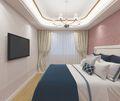 140平米三混搭风格卧室图片大全