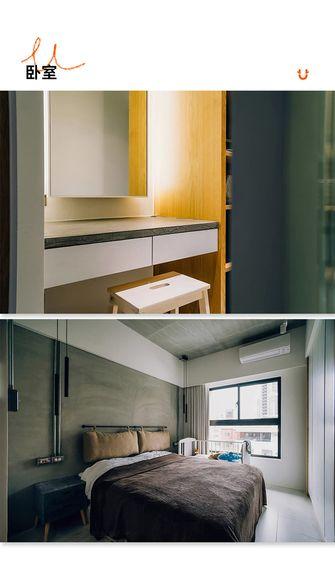 80平米工业风风格卧室设计图