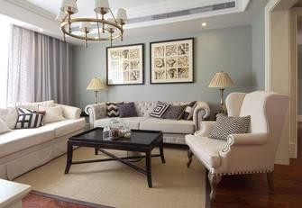 110平米三美式风格客厅图片大全