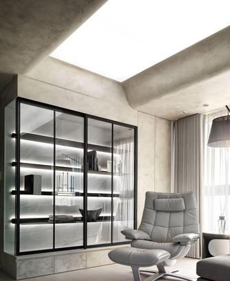 经济型80平米一室一厅现代简约风格客厅图