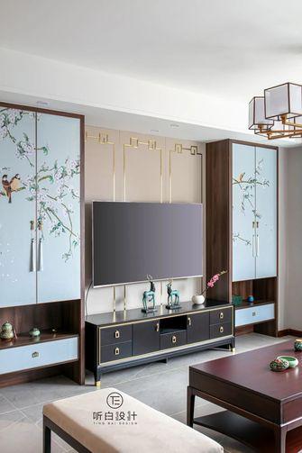 经济型140平米三室一厅中式风格客厅图片大全