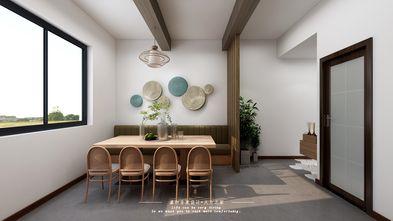 富裕型140平米别墅田园风格餐厅效果图