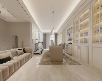 富裕型140平米别墅美式风格书房设计图