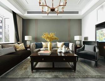 110平米三室一厅美式风格客厅图片大全