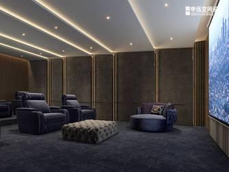 豪华型140平米别墅轻奢风格影音室装修图片大全