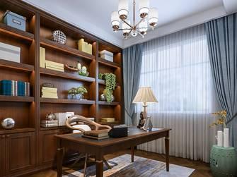 15-20万140平米三美式风格书房装修效果图