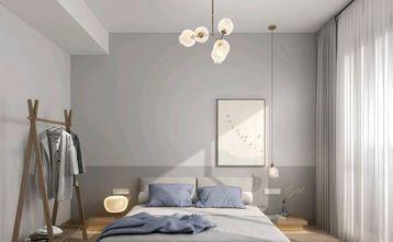 90平米三室三厅日式风格卧室图片大全