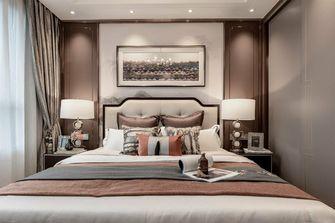 富裕型130平米三室两厅中式风格卧室图片大全