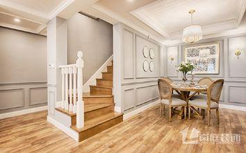 豪华型140平米三室两厅混搭风格楼梯间装修图片大全