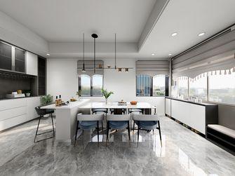 100平米公寓现代简约风格餐厅图片