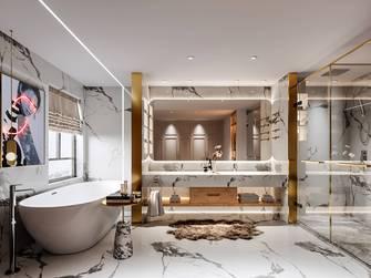 豪华型120平米三室两厅混搭风格卫生间图