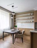 15-20万90平米一居室现代简约风格餐厅图片