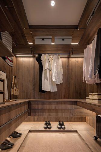 140平米三室两厅现代简约风格衣帽间装修效果图