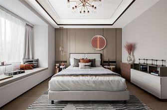 富裕型120平米三现代简约风格卧室装修案例