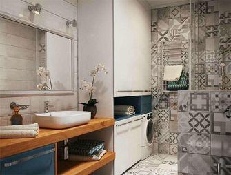 富裕型90平米公寓现代简约风格卫生间装修案例