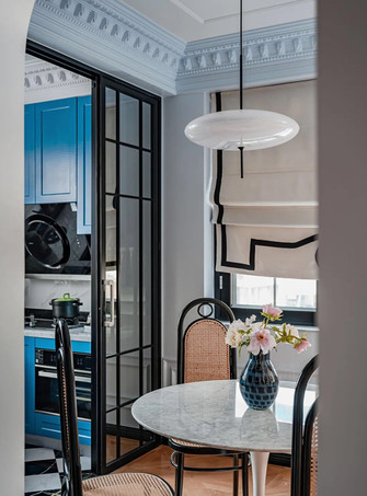 20万以上80平米三室两厅美式风格厨房效果图