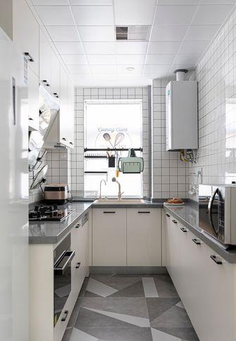 富裕型100平米三室两厅日式风格厨房欣赏图