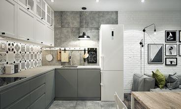 经济型80平米公寓工业风风格厨房图