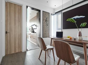 110平米三室两厅北欧风格餐厅装修案例