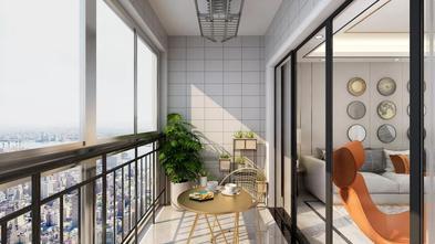 5-10万140平米三现代简约风格阳台装修效果图