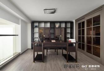 豪华型130平米四室两厅中式风格书房设计图