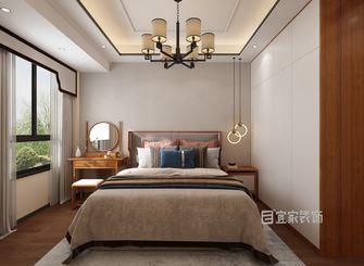 富裕型110平米三中式风格卧室装修案例