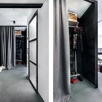 3万以下40平米小户型工业风风格衣帽间装修图片大全