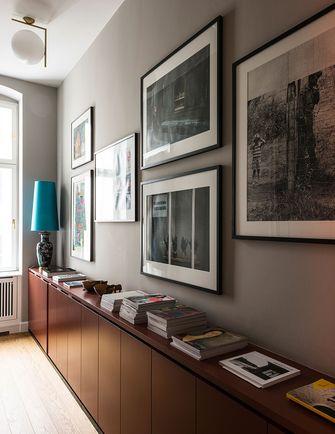 豪华型130平米三室一厅地中海风格书房图