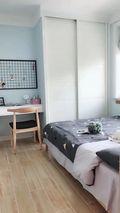 经济型50平米小户型北欧风格卧室图片