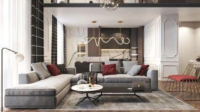20万以上140平米四美式风格客厅图片大全