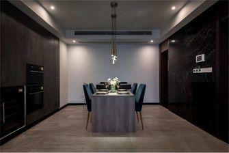 豪华型130平米四室三厅现代简约风格餐厅图片大全