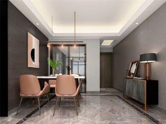 15-20万120平米三室两厅轻奢风格餐厅欣赏图