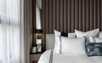 富裕型120平米三室一厅港式风格卧室装修图片大全