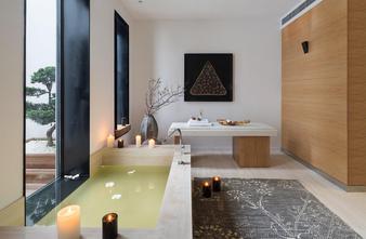 豪华型140平米别墅混搭风格卫生间欣赏图