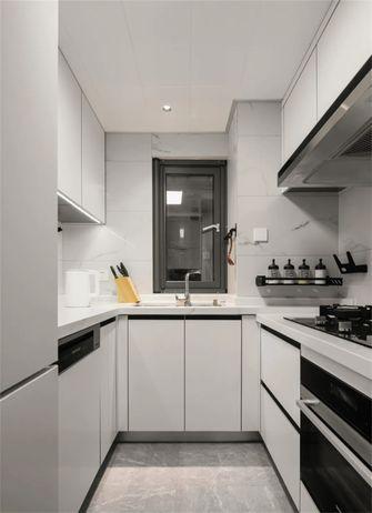 80平米三室两厅现代简约风格厨房装修案例