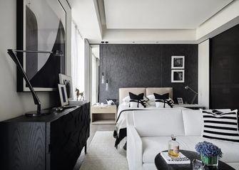 140平米三室一厅现代简约风格卧室效果图