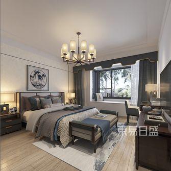 20万以上140平米三室两厅中式风格卧室图