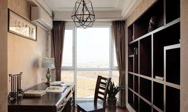20万以上100平米三室两厅中式风格书房图片大全