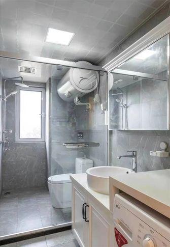 140平米三室两厅美式风格卫生间设计图