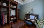 110平米三室两厅欧式风格衣帽间设计图