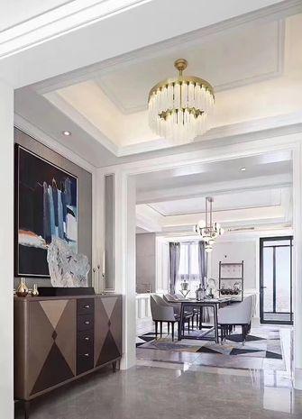 130平米三室一厅欧式风格餐厅装修效果图