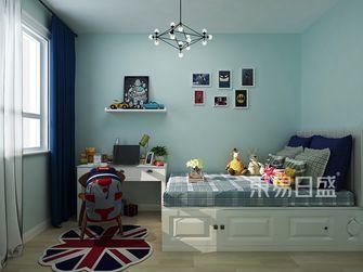 豪华型120平米三室两厅欧式风格卧室装修图片大全