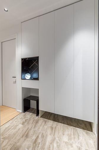 富裕型100平米三室两厅现代简约风格玄关装修案例