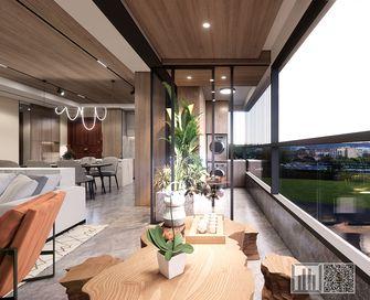 富裕型140平米四现代简约风格阳台图片