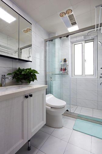 富裕型100平米三现代简约风格卫生间装修效果图